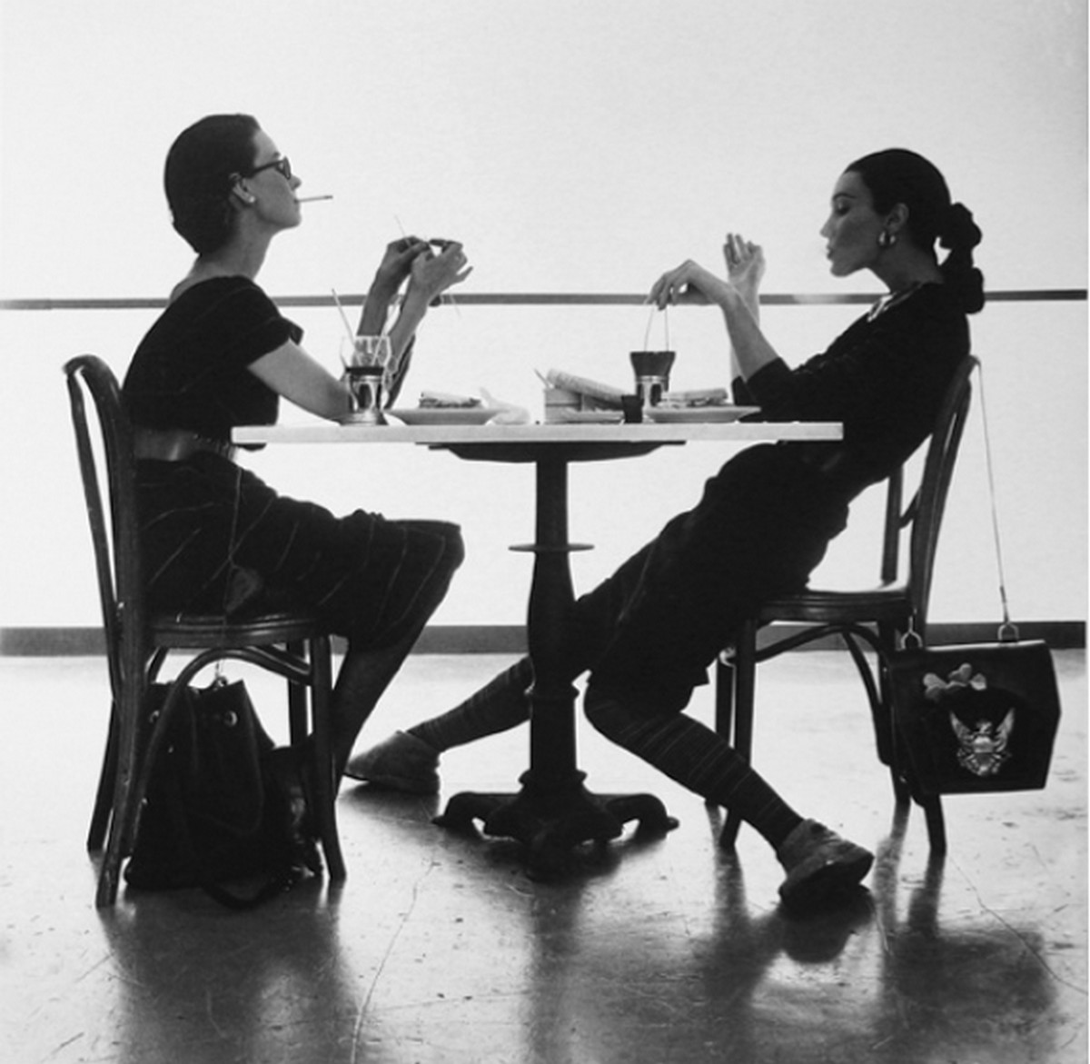irving penn dorian and evelyn